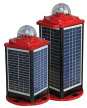 Solar Powered Airfield Obstruction Lighting